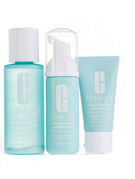 3-ступенчатая система ухода за кожей Anti-Blemish Solutions, Сlinique