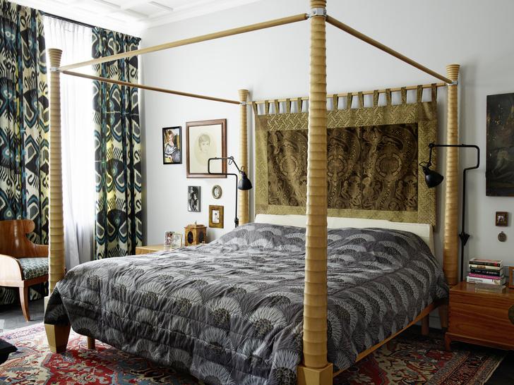 Кровать с балдахином: 15 интерьеров (галерея 1, фото 1)