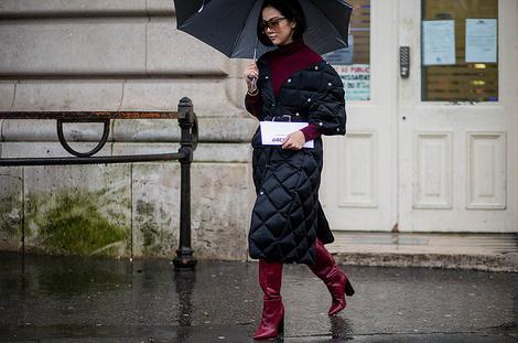 Как одеться в дождь: | галерея [4] фото [2]