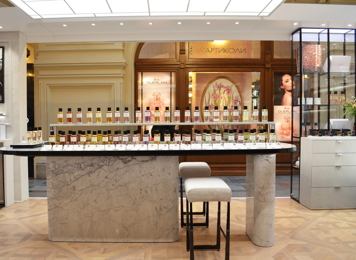 Пространство Maison Christian Dior в московском ГУМе (фото 1)