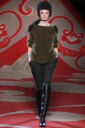 Показы мод Ulyana Sergeenko Осень-зима 2012-2013 | Подиум на ELLE - Подиум - фото 1351