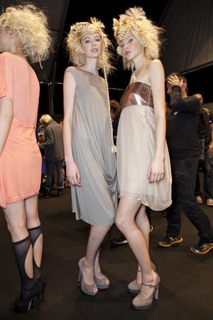Показ New upcoming designers коллекции сезона Весна-лето 2013 года prêt-à-porter - www.elle.ru - Подиум - фото 452762
