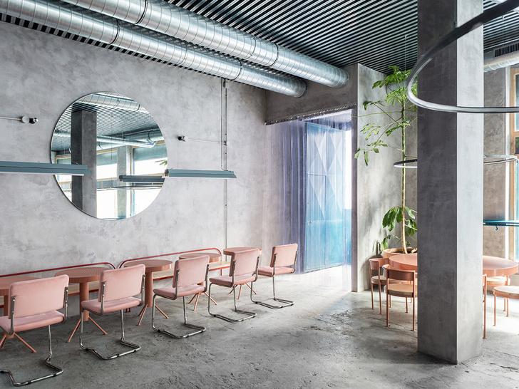 Нежный бетон: ресторан в Испании (фото 7)
