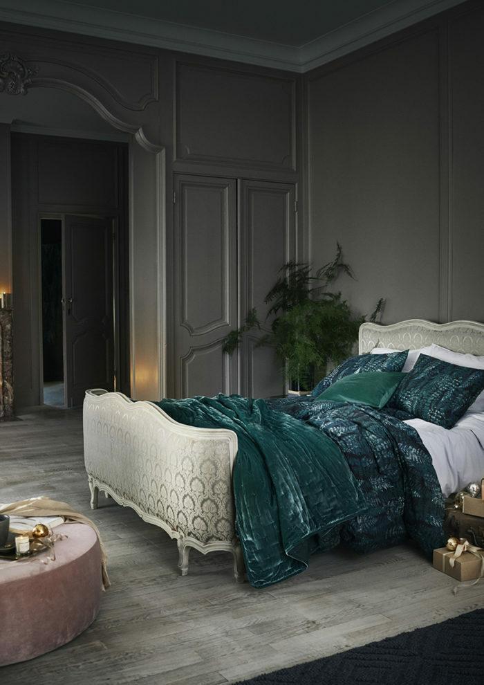 Зима, приходи! Новогоднее настроение в спальне (фото 16)
