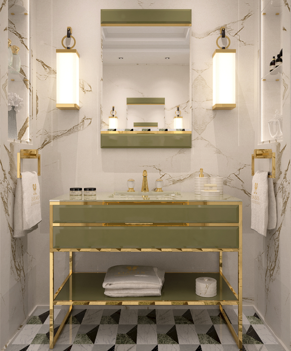 Новая коллекция мебели для ванной Academy от Oasis | галерея [1] фото [3]