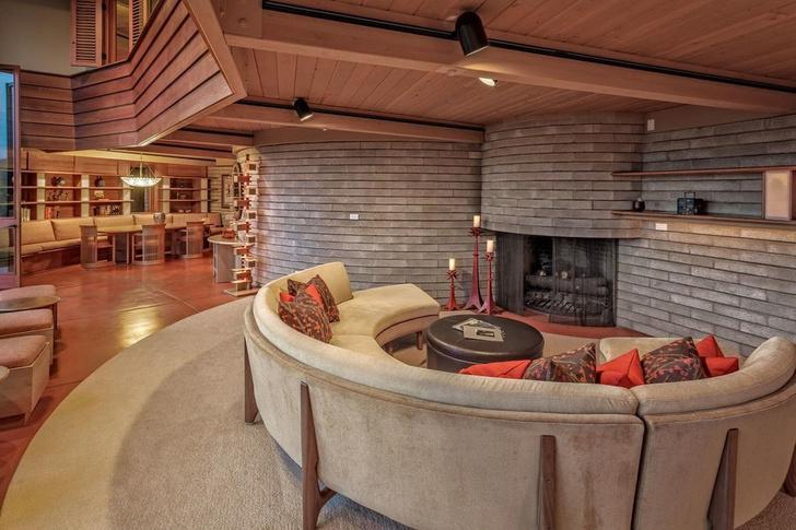Дом по проекту Фрэнка Ллойда Райта на Гавайях (фото 4)