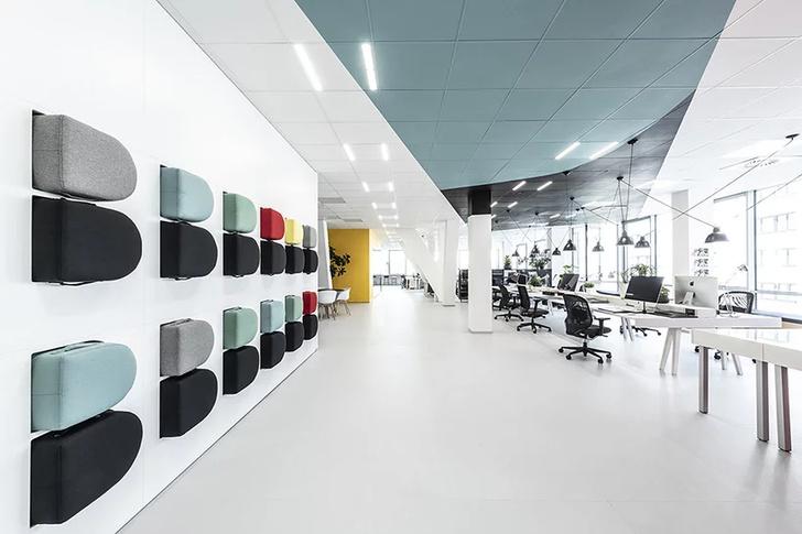 Офисное пространство с оптическими иллюзиями от B2 Architecture (фото 3)