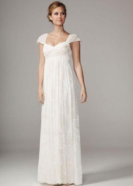 Свадебные платья для беременных невест   галерея [1] фото [9]