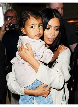 Ким Кардашьян с дочерью Норт