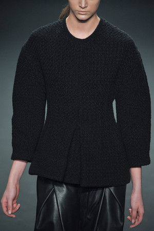 Показ Calvin Klein Collection коллекции сезона Осень-зима 2012-2013 года Prêt-à-porter - www.elle.ru - Подиум - фото 350852