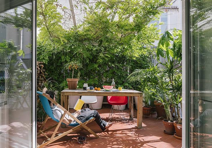 Квартира с бассейном, гамаком и террасой в Мадриде (фото 12)