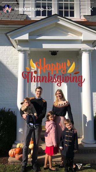 Как звезды отметили День благодарения? (фото 12)