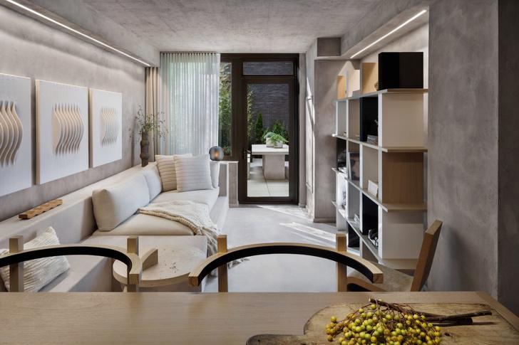 Оттенки ванили: квартира 64 м² в Нью-Йорке (фото 0)