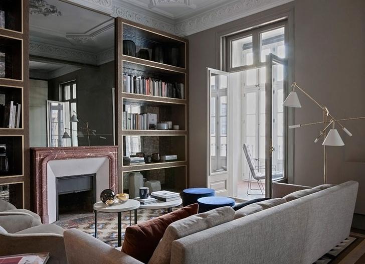Современная квартира в доме Гауди в Барселоне (фото 5)