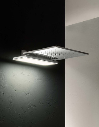 Топ 12: освещение в ванной. Мебель, зеркала, душевые лейки и ванны со встроенной подсветкой (фото 15.2)