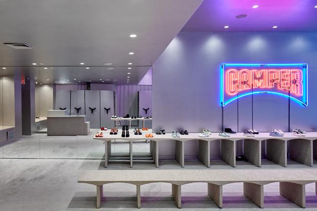 Нью-йоркский бутик Camper по проекту Кенго Кумы (фото 11)