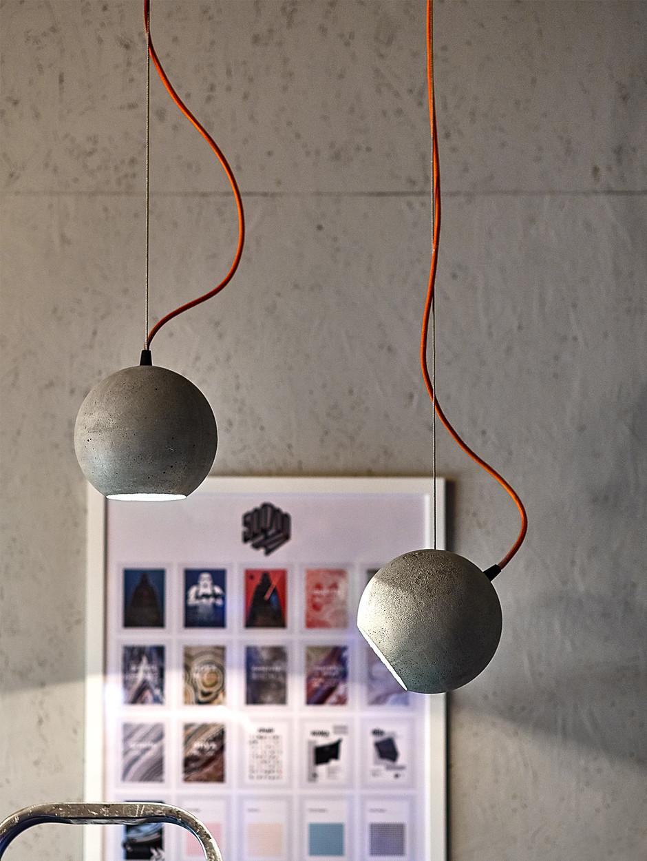 Бетонные светильники | галерея [1] фото [4]
