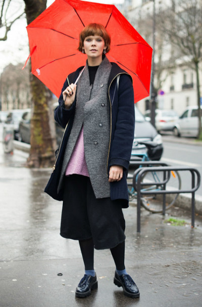 How to dress in the rain: | gallery [3] photos [4]