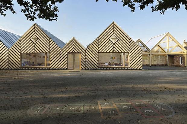 Деревянная школа на юге Франции от Tracks Architectes (фото 4)