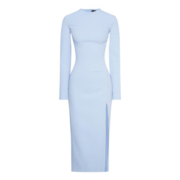 Главная покупка будущей весны: голубое платье (фото 12)