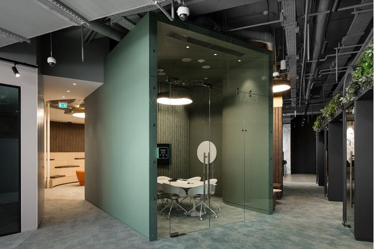 Офис L'Oréal по проекту IND Architects в Москве (фото 12)