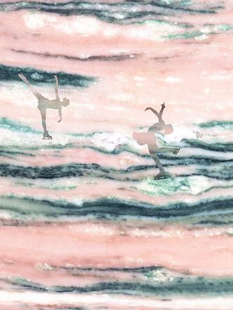 Зимние олимпийские игры в мраморе (фото 0)