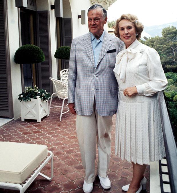 Эсте Лаудер с мужем Джозефом