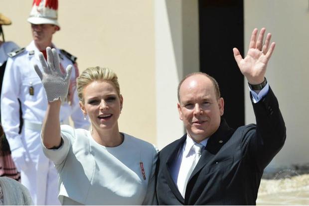 Фото дня: князь и княгиня Монако на крещении близнецов (фото 19)