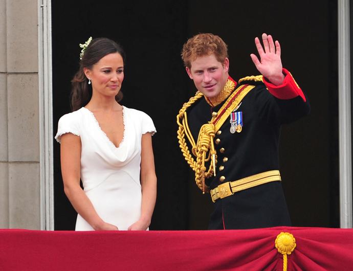 Пиппа Миддлтон и принц Гарри фото