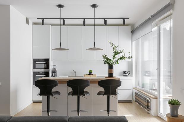 Tabula rasa: минималистичная квартира 72 м² (фото 6)