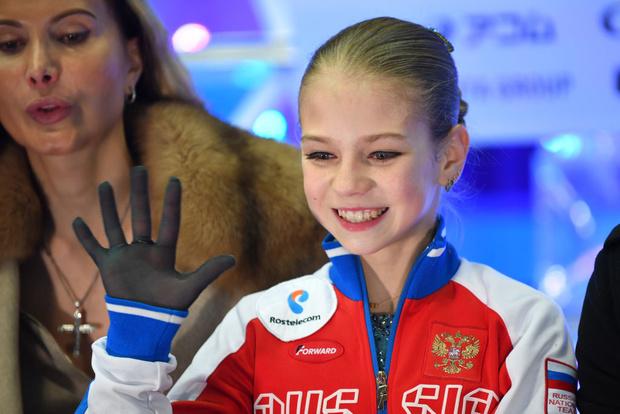 13-летняя российская фигуристка установила новый мировой рекорд (фото 6)