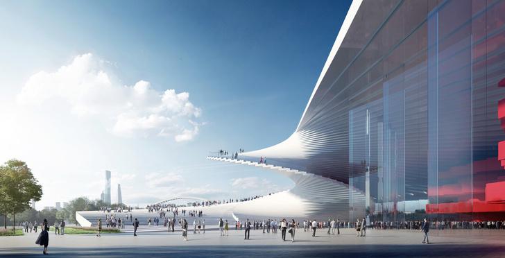 Проект Шанхайской оперы от студии Snøhetta (фото 0)