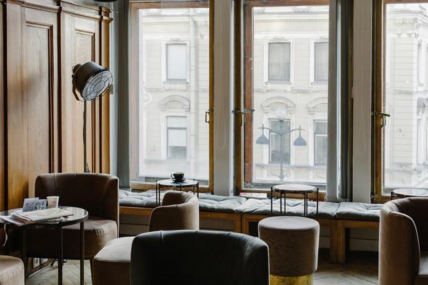 ÔPETIT на Невском: новая кофейня-кондитерская в историческом здании Санкт-Петербурга (фото 7)