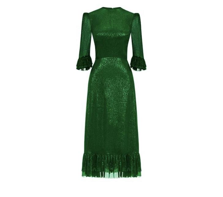Невеста Дракулы: Кейт Миддлтон в изумрудном платье The Vampire's Wife (фото 7)