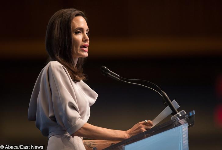 Анджелина Джоли на конференции ООН в Ванкувере (фото 1)