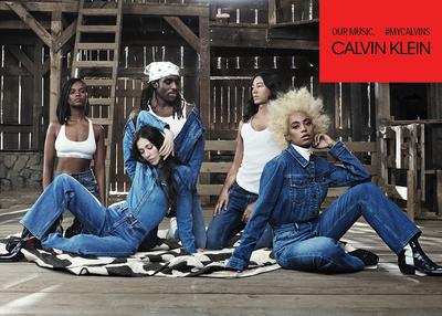 Соланж снялась в рекламной кампании Calvin Klein (галерея 3, фото 3)