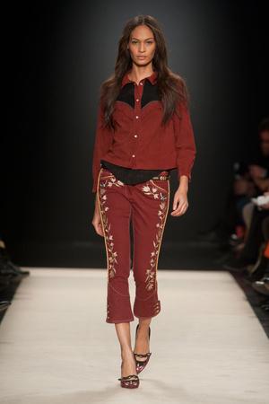 Показы мод Isabel Marant Осень-зима 2012-2013 | Подиум на ELLE - Подиум - фото 1438