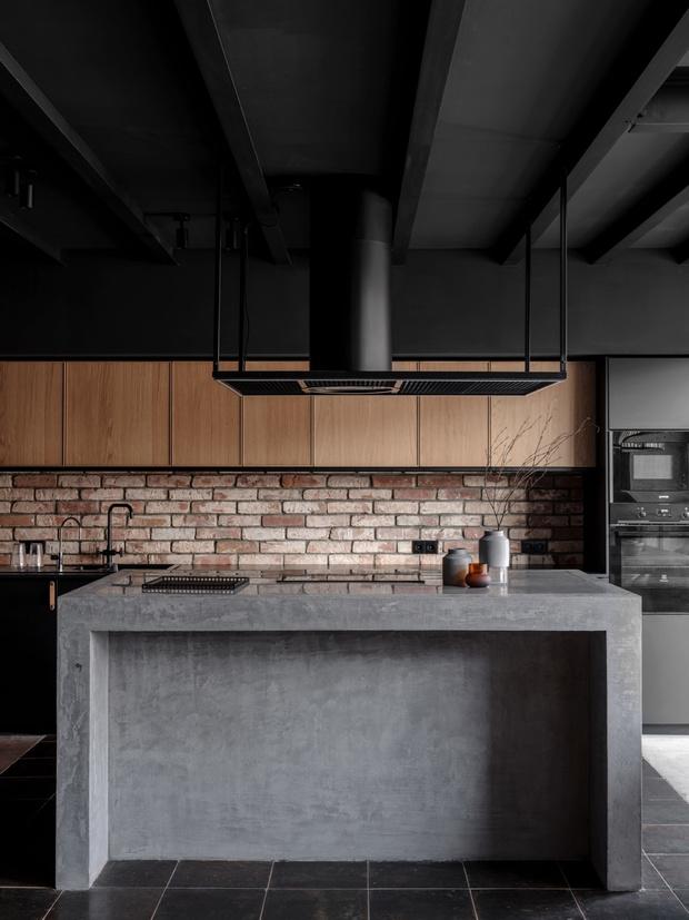 От заката до рассвета: квартира в стиле лофт (фото 7)