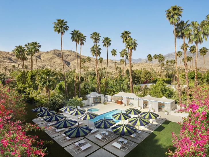 Калифорнийский шик: новый дизайн отеля Parker Palm Springs от Джонатана Адлера (фото 2)
