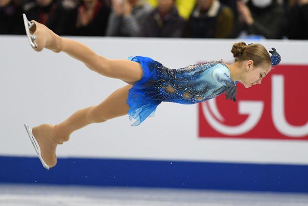 13-летняя российская фигуристка установила новый мировой рекорд (фото 7)