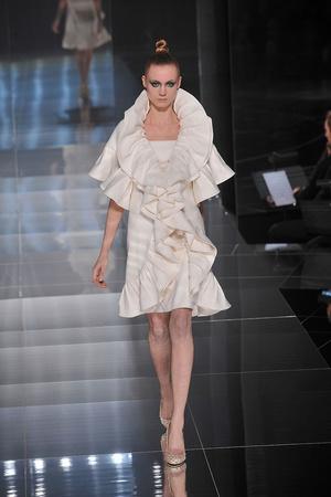 Показ Valentino коллекции сезона Весна-лето 2009 года haute couture - www.elle.ru - Подиум - фото 86984