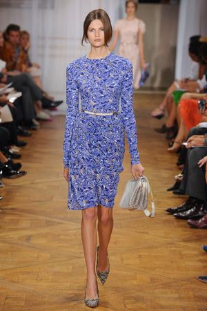 Показы мод Nina Ricci Весна-лето 2012 | Подиум на ELLE - Подиум - фото 1829