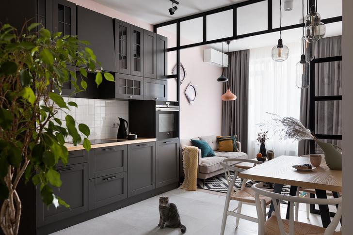 Цветок скандинавии: квартира 49 м² в Киеве (фото 5)