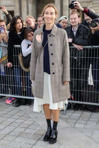 Наталья Водянова и Кейт Бланшетт на показе Louis Vuitton | галерея [1] фото [3]