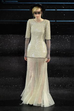 Показ  коллекции сезона Осень-зима 2011-2012 года Haute couture - www.elle.ru - Подиум - фото 278055