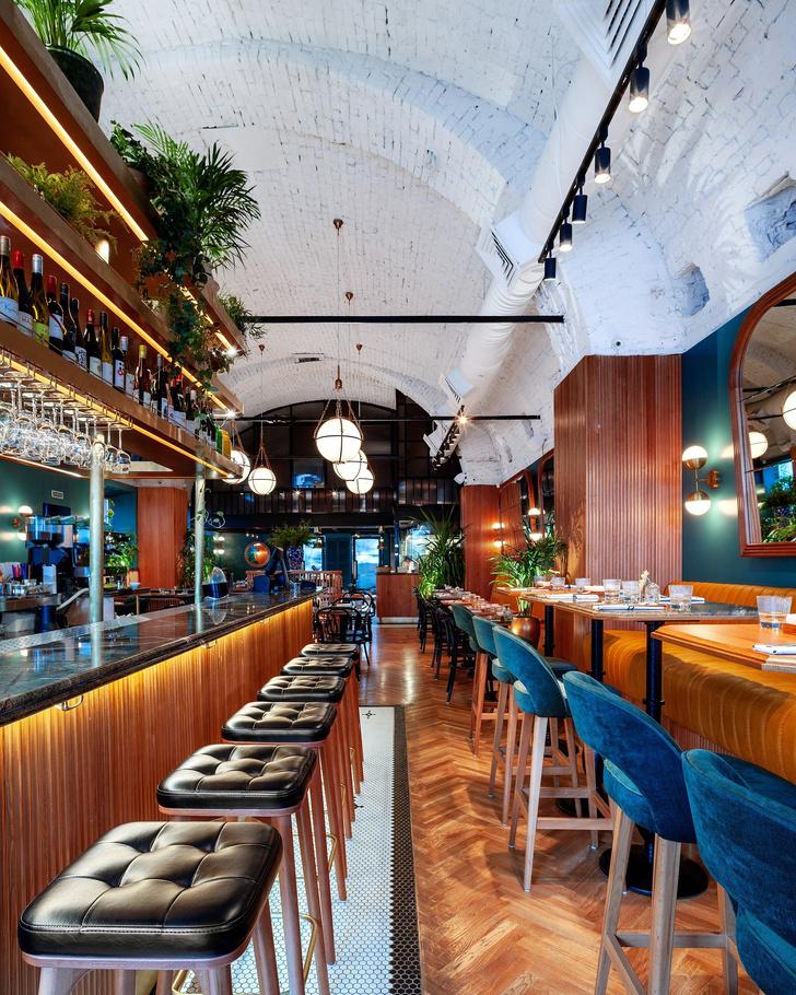 """Ресторан """"Сойка"""" в Екатеринбурге: проект Hot Design Folks (фото 6)"""