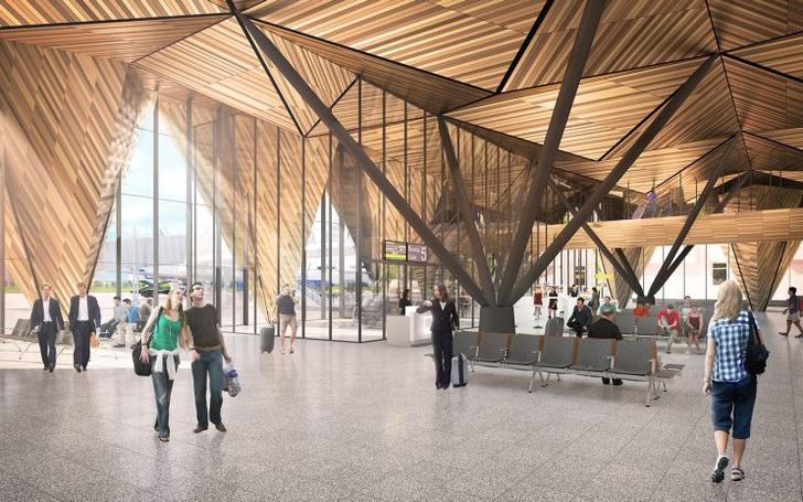 Проект реконструкции аэропорта Нового Уренгоя (фото 12)