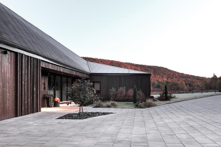 Осенняя соната: дом в поле по проекту Шевалье Моралеса (фото 3)