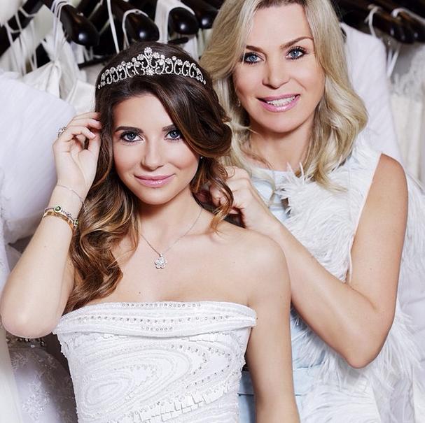 Галина Юдашкина с мамой