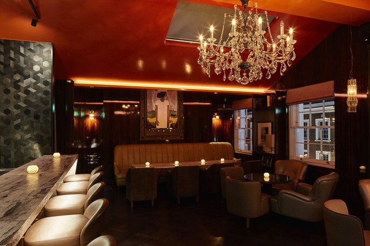 Ресторан OSH в Лондоне: проект Ирины Глик (фото 9)
